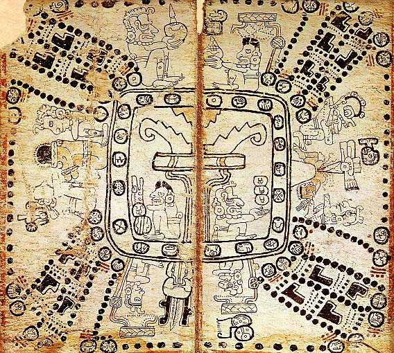 Folio from Madrid codex