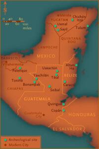 maya classicperiod map